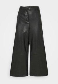 Opus - MILLI - Kalhoty - black - 4