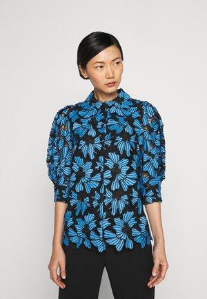 MIRABELLE - Button-down blouse - pacific blue