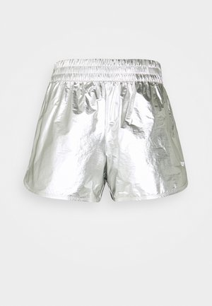 REGULAR SILVER SHORT - Sports shorts - silver