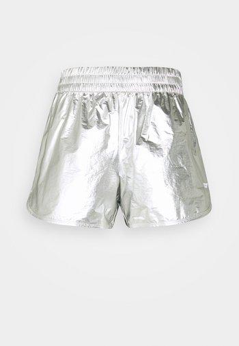 REGULAR SILVER SHORT - Sports shorts - silver
