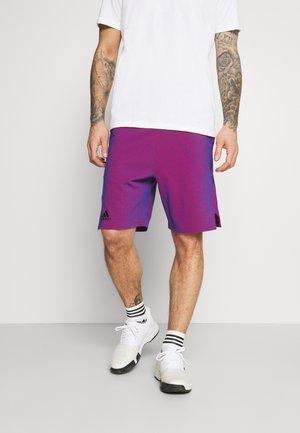Pantalón corto de deporte - blue/red