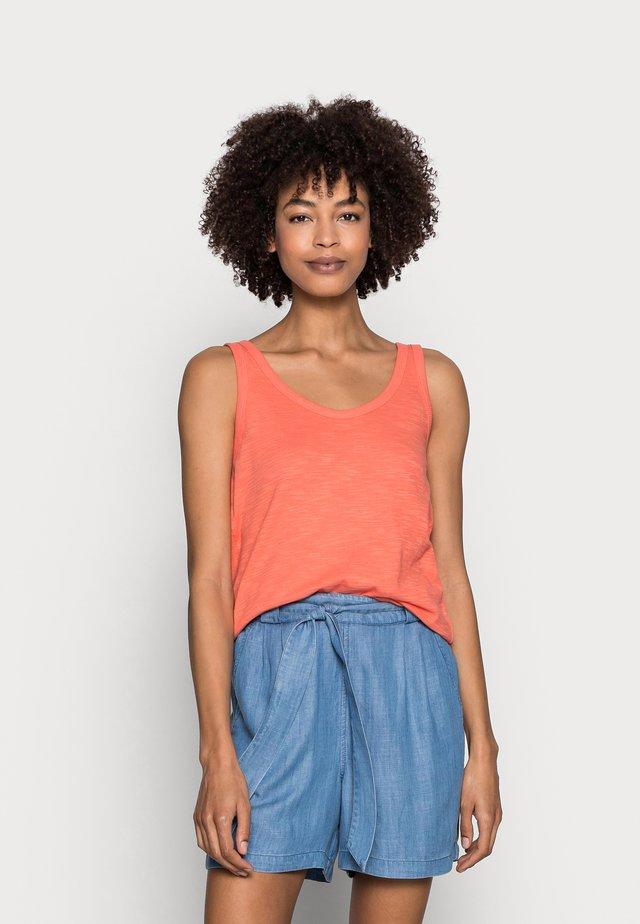 Linne - coral orange