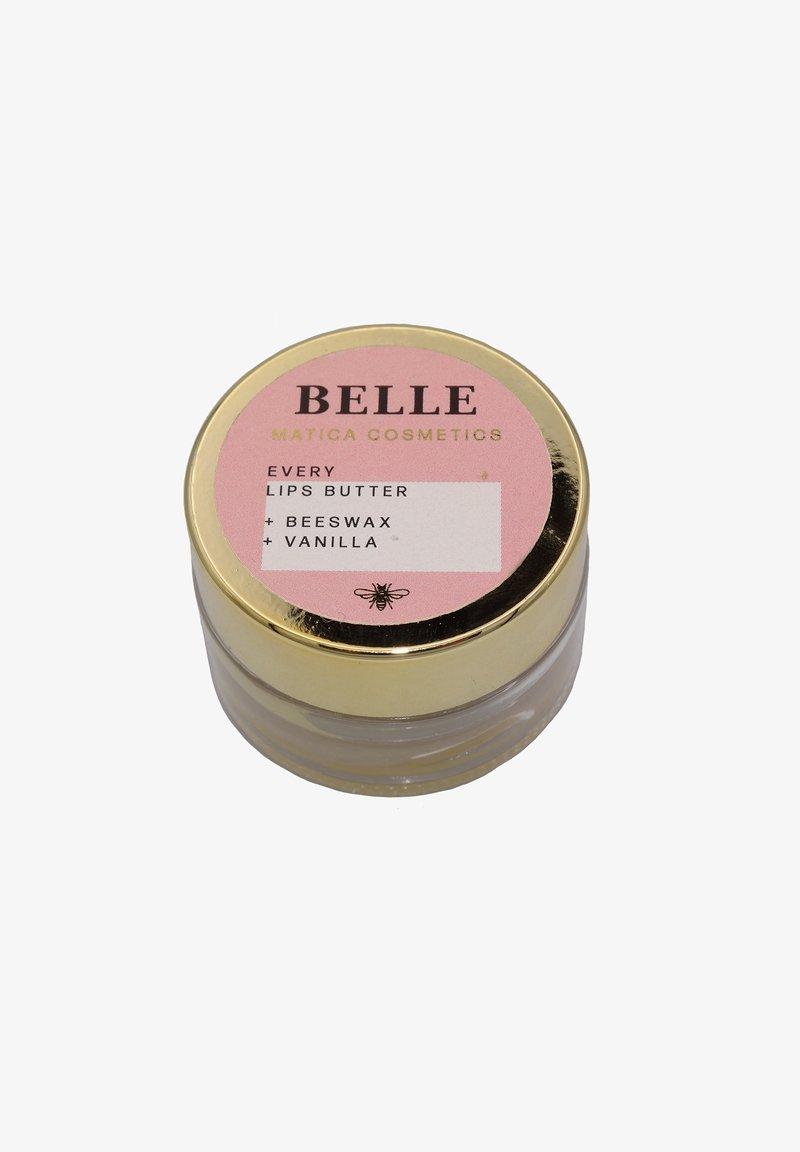 Matica Cosmetics - LIPPENBUTTER BELLE – VANILLE - Lip scrub - -