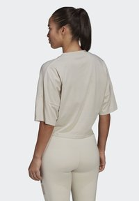 adidas Performance - CROPPED W PRIMEBLUE TRAINING T-SHIRT - Print T-shirt - grey - 1