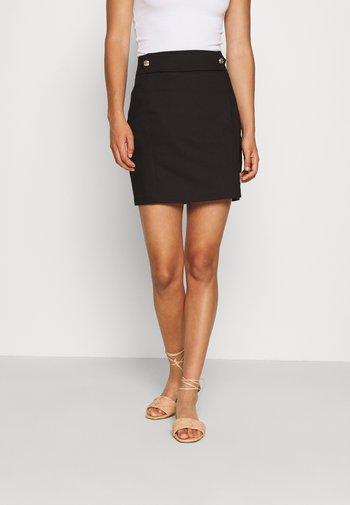 JOISE - Mini skirt - noir
