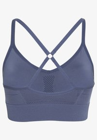 Nike Performance - INDY SEAMLESS BRA - Sujetadores deportivos con sujeción ligera - diffused blue/white - 1