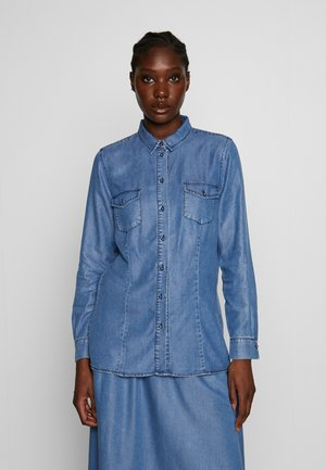 BLOUSE - Košile - denim blue