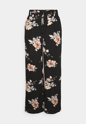 ONLNOVA PALAZZO PANT - Pantalon classique - black