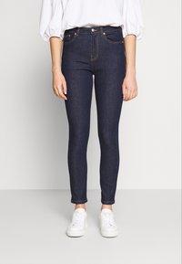 Benetton - TROUSERS - Jeans Skinny Fit - dark blue - 0