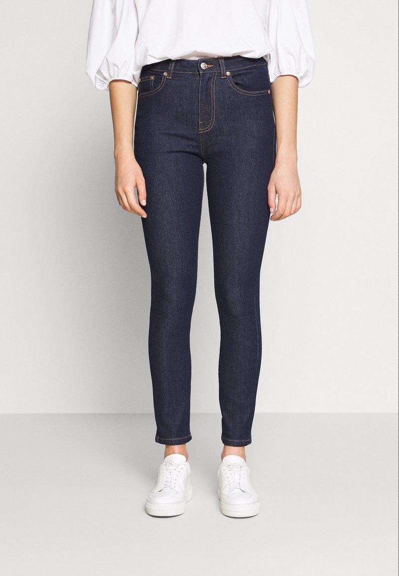 Benetton - TROUSERS - Jeans Skinny Fit - dark blue