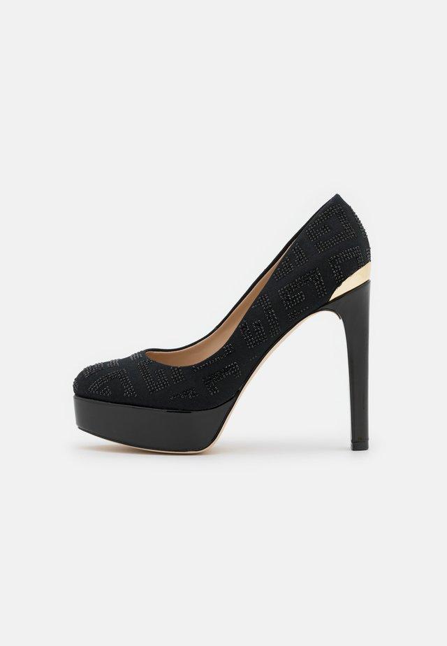 DEARLY - Platform heels - black