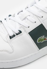 Lacoste - THRILL - Sneakers - white/dark green - 5