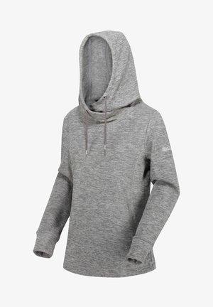 Hoodie - lead grey