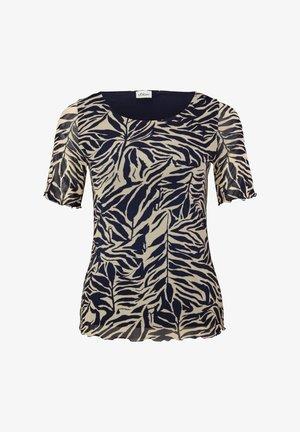 T-shirt print - light beige aop