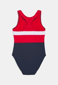 Fila - MARIE SWIMSUIT SWIMWEAR - Swimsuit - black iris/true red/bright white - 1