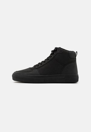 Sneaker high - black