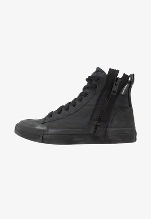 S-ASTICO MID ZIP - Korkeavartiset tennarit - dark shadow