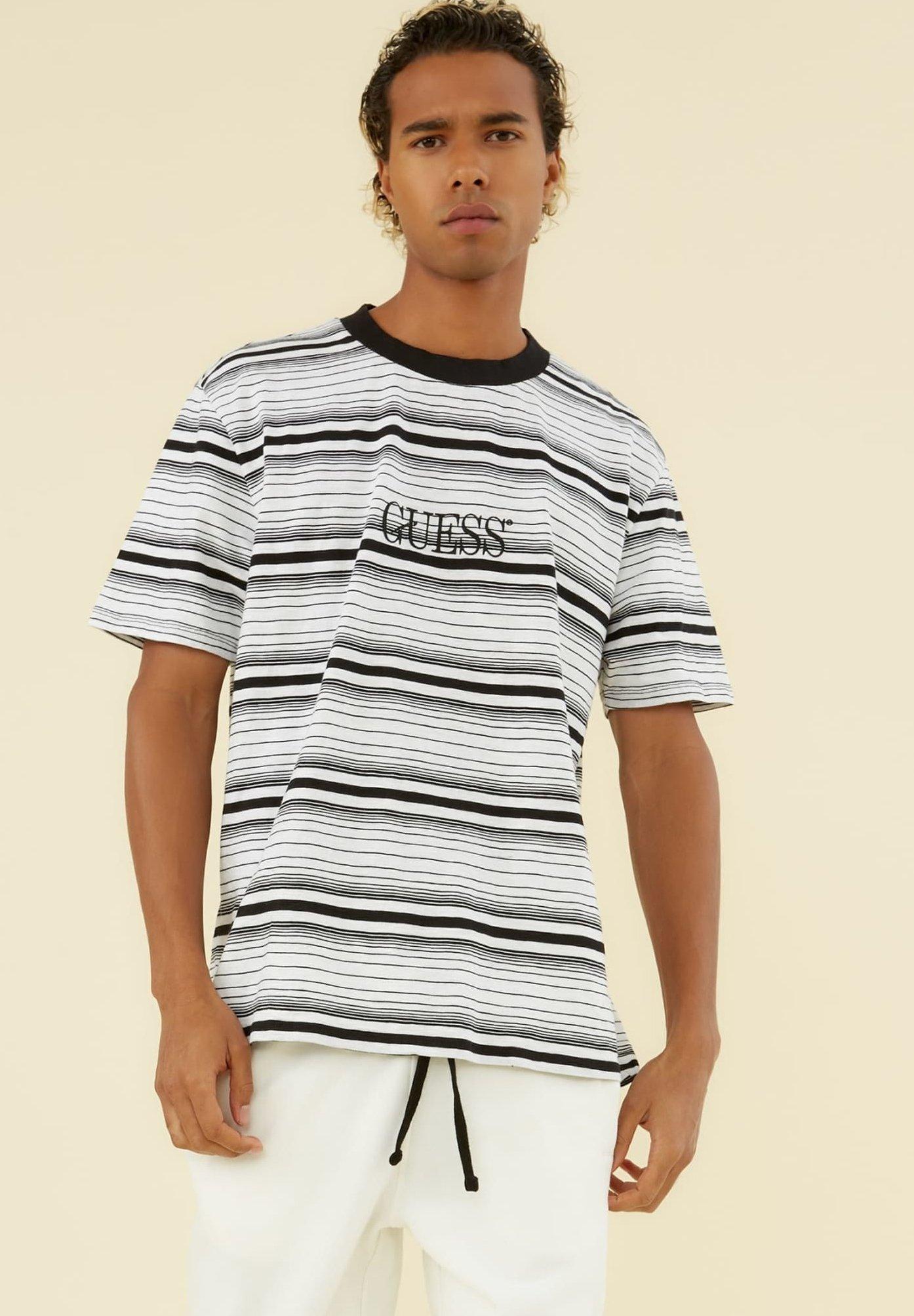 Homme LOGO STREIFENMUSTER - T-shirt imprimé