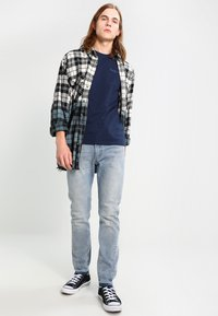 Pepe Jeans - ORIGINAL BASIC - Camiseta básica - azul marino - 1