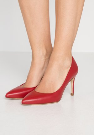 FLORET - High heels - roca red