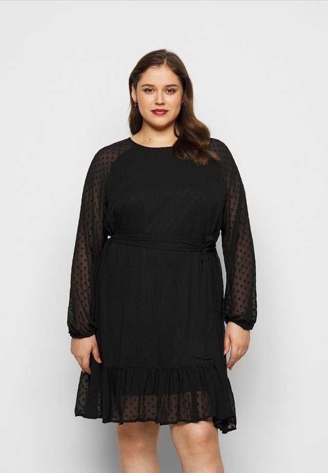 VMTHEA SHORT DRESS - Kjole - black