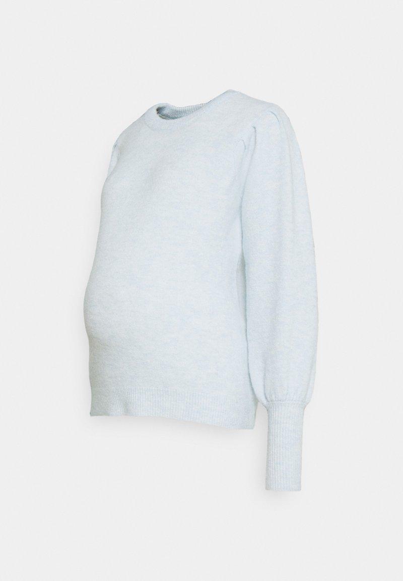 Pieces Maternity - PCMPAM ONECK - Jumper - plein air