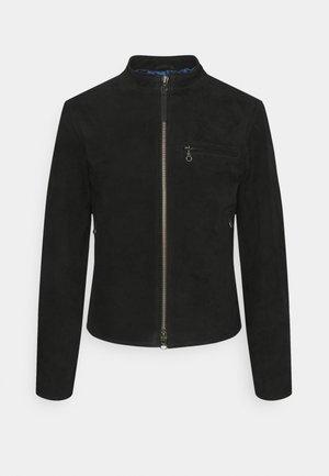 DAMIR - Kožená bunda - black