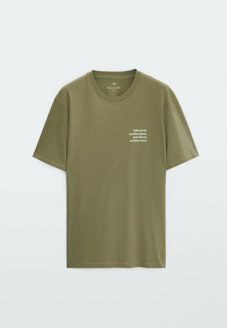 Homme MIT SLOGAN  - T-shirt imprimé