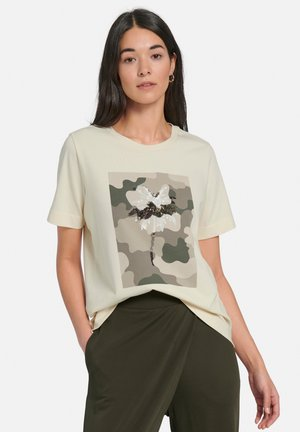 Print T-shirt - offwhite/multicolor