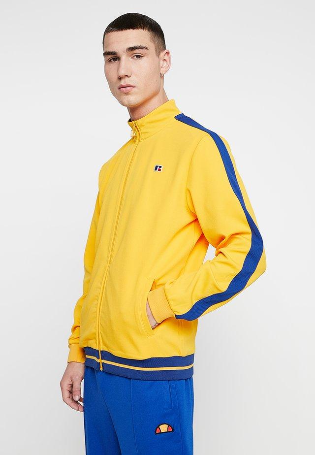 ANGELES STRIPED HEM TRACK JACKET - Training jacket - yellow