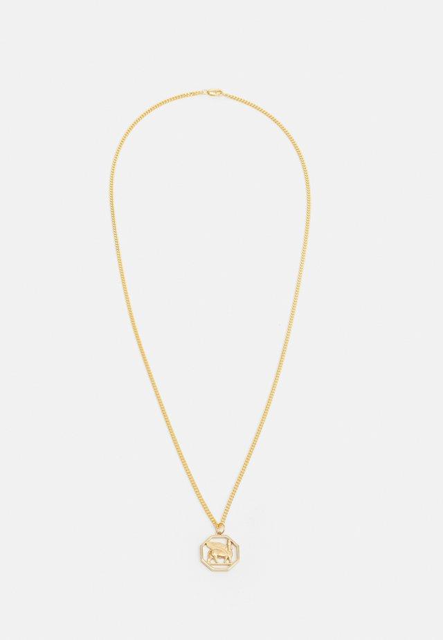 LAMASSU PENDANT NECKLACE - Halsband - gold-coloured