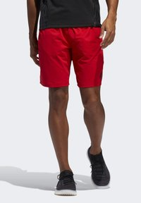 adidas Performance - 4KRFT SPORT ULTIMATE 9-INCH KNIT SHORTS - Shorts - red - 0