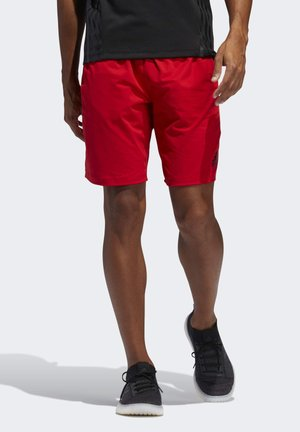 4KRFT SPORT ULTIMATE 9-INCH KNIT SHORTS - Kraťasy - red