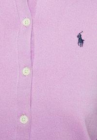 Polo Ralph Lauren - CARDIGAN LONG SLEEVE - Cardigan - matisse purple - 5