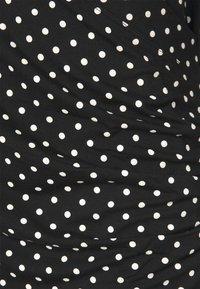 Lauren Ralph Lauren Woman - ALAYJA 3/4 SLEEVE - Long sleeved top - black/white - 2