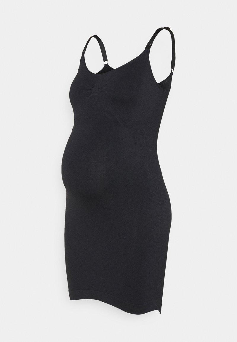 Noppies - SEAMLESS NURSING DRESS - Negligé - black