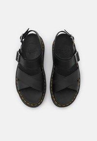 Dr. Martens - VOSS - Platform sandals - black hydro - 4