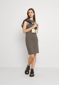 G-Star - ENGINEERED TANK DRESS - Shift dress - grey - 1