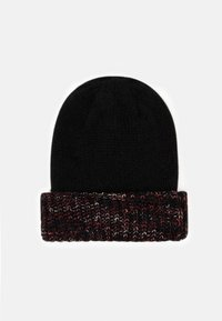 Desigual - HAT TWIST - Čepice - black - 1