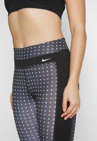 Nike Performance - ONE - Punčochy - black/white - 4
