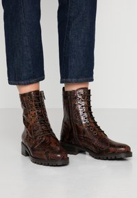 Dune London - PRESTPONE - Veterboots - brown - 0