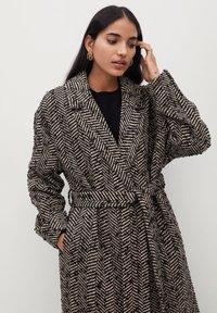 Mango - FOX - Classic coat - schwarz - 2