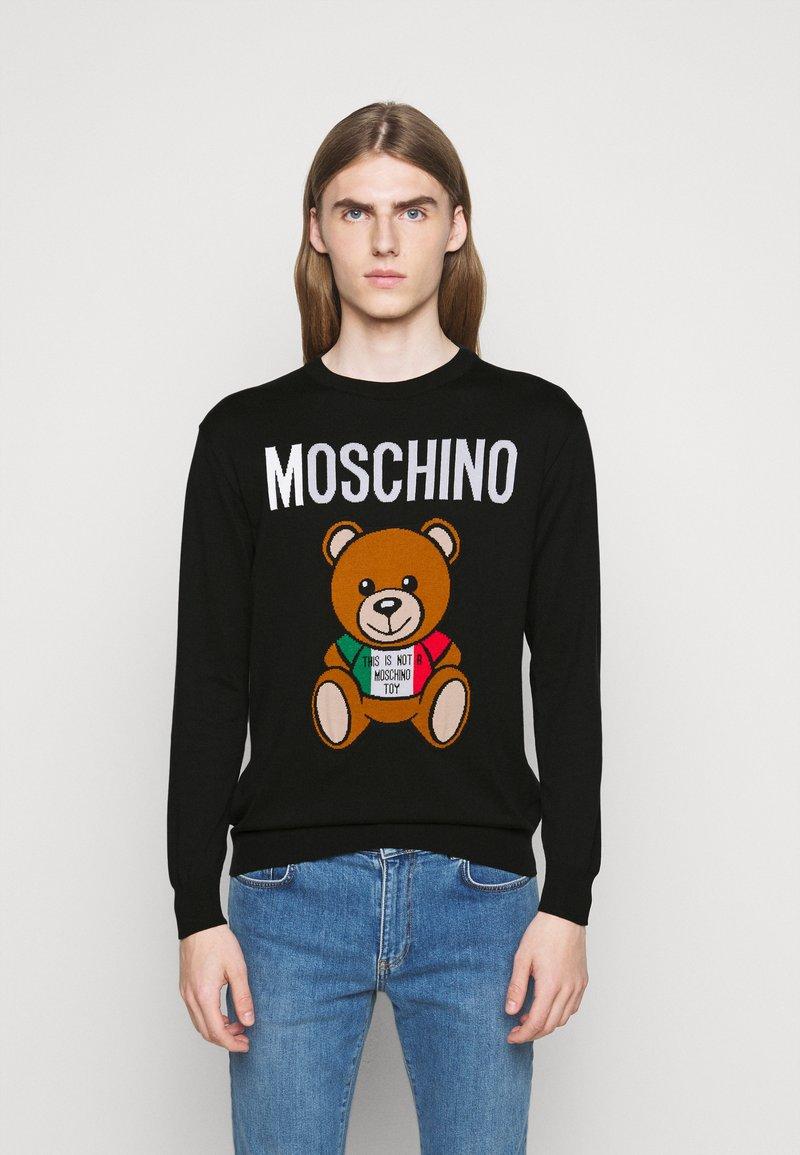 MOSCHINO - Jumper - fantasy print black