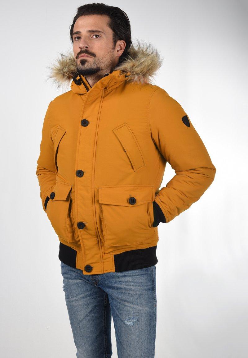 Solid - Winter jacket - sudan brown