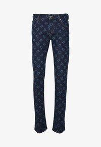 Just Cavalli - PANTS POCKETS STARS - Džíny Slim Fit - blue denim - 4