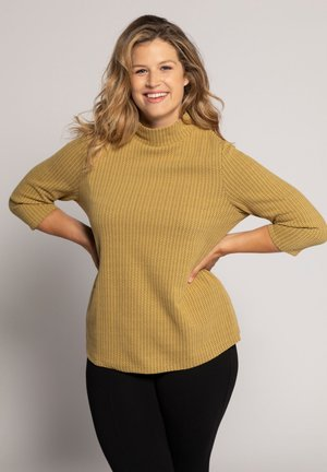 Sweatshirt - helles senfgelb