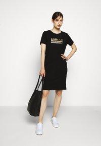Barbour International - THUNDERBOLT DRESS - Jersey dress - black - 1