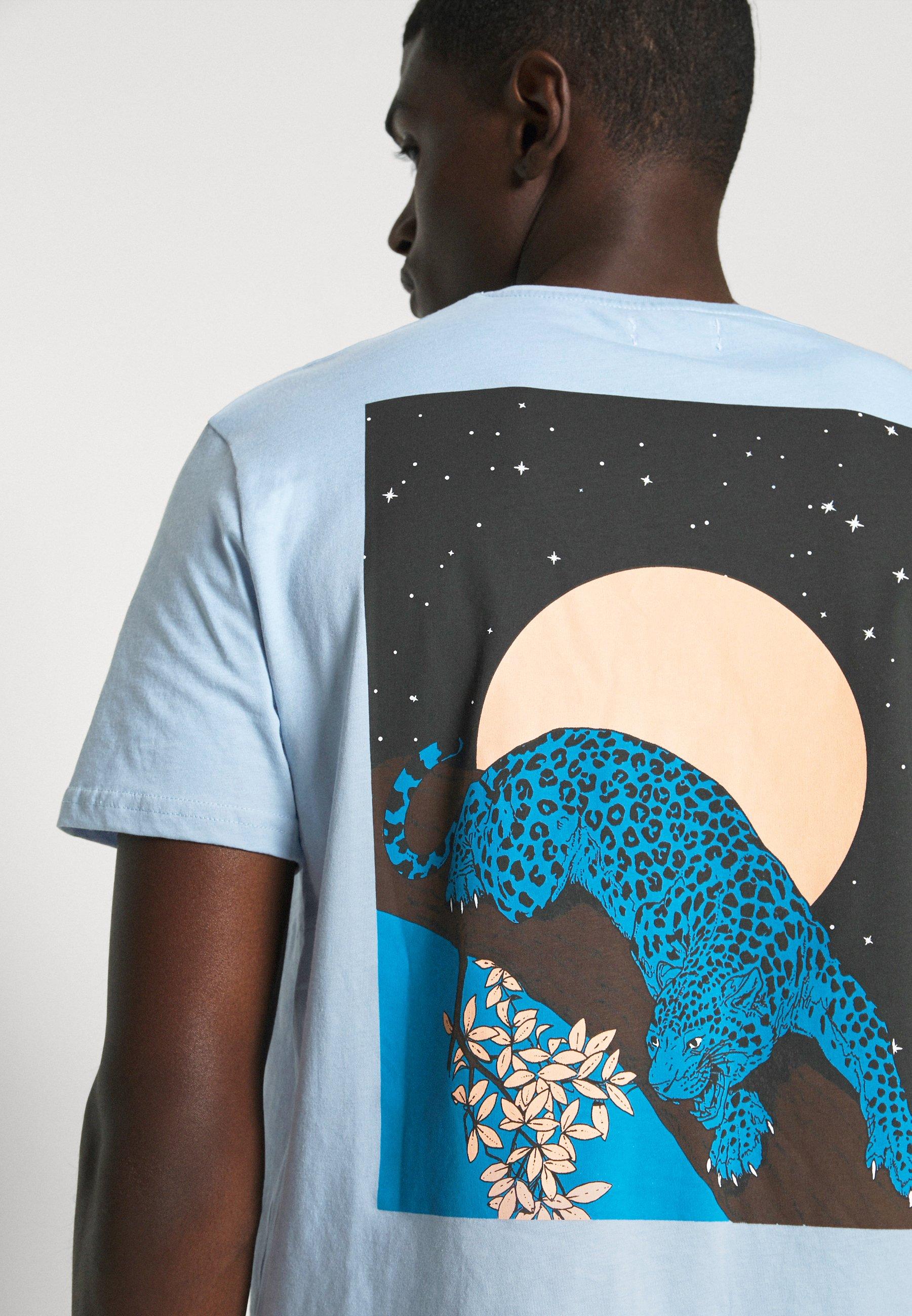 Yourturn T-shirt Print - Blue