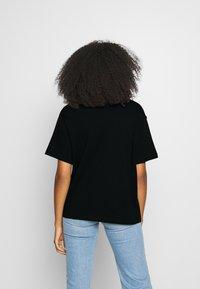 Nike Sportswear - AIR TOP  - T-Shirt print - black/volt - 2