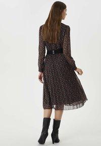 Liu Jo Jeans - WITH BELT - Day dress - black - 2